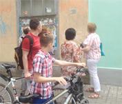 Таганрог стал третьим городом в России, где установили мемориальный знак в рамках проекта «Последний адрес»