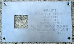Warum in Naumburg an Helmut Sonnenschein erinnert wird