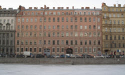 Санкт-Петербург, набережная реки Фонтанки, 129