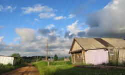 Пермский край, деревня Лопатина