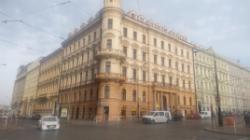 Чехия, Прага, улица Болзанова, 1 (Bolzanova 1)